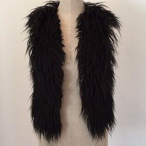 Leith faux fur vest